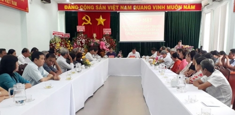 Gò Dầu: Họp mặt kỷ niệm 90 năm Ngày truyền thống Văn phòng cấp ủy