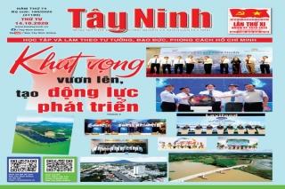 Điểm báo in Tây Ninh ngày 14.10.2020