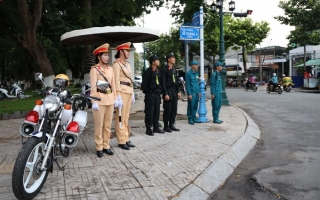 Công an Tây Ninh: Đảm bảo tuyệt đối an toàn cho Đại hội Đảng bộ tỉnh