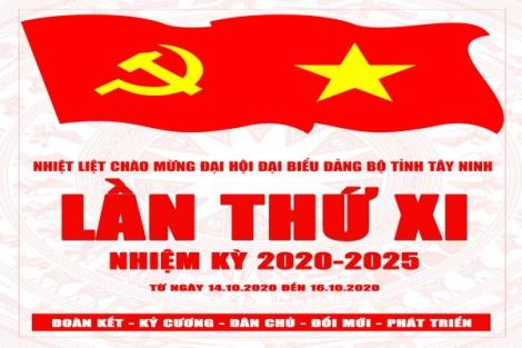 Sáng nay, khai mạc phiên trù bị Đại hội đại biểu Đảng bộ tỉnh lần thứ XI, nhiệm kỳ 2020-2025