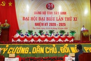 Khai mạc trọng thể Đại hội đại biểu Đảng bộ tỉnh Tây Ninh lần thứ XI, nhiệm kỳ 2020-2025