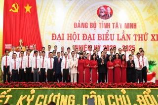Ra mắt Ban Chấp hành Đảng bộ tỉnh khoá XI và Đoàn đại biểu dự Đại hội đại biểu toàn quốc lần thứ XIII của Đảng