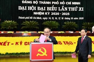 Đã có kết quả bầu Ban Chấp hành Đảng bộ TPHCM khóa XI