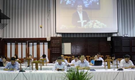 Hội nghị trực tuyến triển khai thi hành Luật sửa đổi, bổ sung một số điều của Luật Ban hành VBQPPL