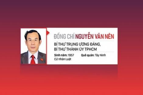 Đồng chí Nguyễn Văn Nên được bầu làm Bí thư Thành ủy TP.HCM khóa XI