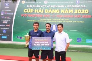 Công ty BABOLAT Việt Nam ký kết hợp đồng với các thành viên CLB Hải Đăng