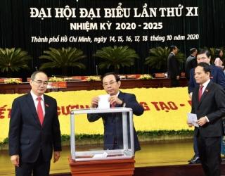Tân Bí thư Thành ủy TPHCM Nguyễn Văn Nên chính thức ra mắt