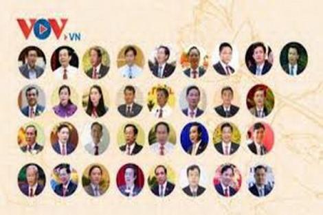 Danh sách 33 Bí thư tỉnh, thành trúng cử trong tuần từ 12-18.10.2020