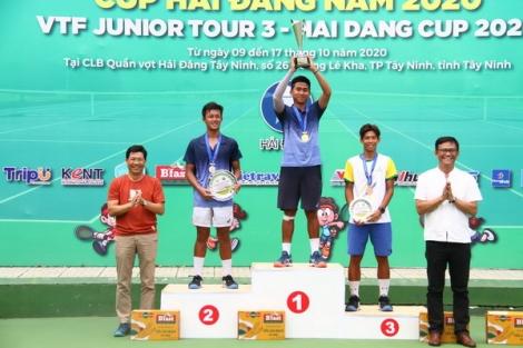 Bế mạc Giải quần vợt VTF Junior Tour 3-Hải Đăng Cup 2020
