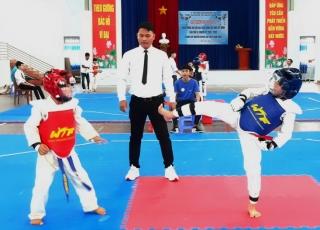 Bến Cầu tổ chức giải Teakwondo mở rộng