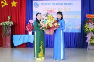 Hội LHPN thị xã Hoà Thành: Họp mặt kỷ niệm 90 năm Ngày thành lập Hội Liên hiệp Phụ nữ Việt Nam
