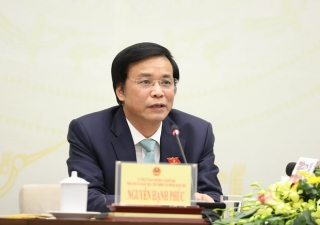 Quốc hội mặc niệm thiếu tướng Nguyễn Văn Man và các chiến sĩ