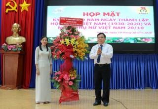 Huyện Gò Dầu họp mặt kỷ niệm 90 năm ngày thành lập Hội LHPN Việt Nam 20.10