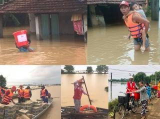 Kêu gọi ủng hộ đồng bào miền Trung bị bão lũ