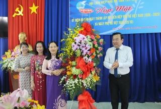 Hội LHPN tỉnh: Họp mặt kỷ niệm 90 năm ngày thành lập Hội LHPN Việt Nam