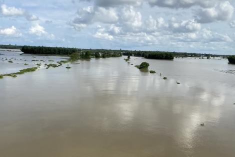 Cảnh báo lũ trên sông Vàm Cỏ Đông