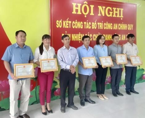 Châu Thành: Sơ kết việc  thực hiện Đề án bố trí Công an chính quy đảm nhiệm chức danh Công an xã