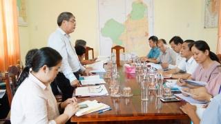 Thường trực HĐND tỉnh giám sát công tác thực hiện quản lý đất đai tại huyện Tân Biên