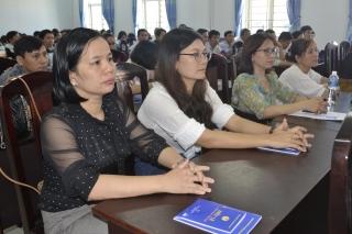 Tập huấn triển khai Điều lệ Công đoàn Việt Nam, Bộ Luật lao động năm 2019