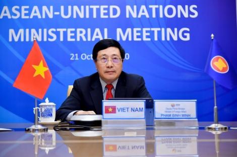 ASEAN, LHQ cam kết nỗ lực xây dựng trật tự quốc tế dựa trên luật lệ