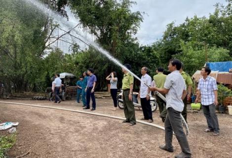 Tập huấn công tác phòng cháy, chữa cháy rừng