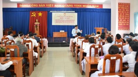 Ủy ban MTTQ Việt Nam tỉnh: Tổ chức hội nghị tuyên truyền pháp luật năm 2020