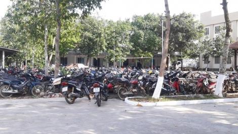 Một tháng, tạm giữ hơn 1.800 phương tiện vi phạm giao thông