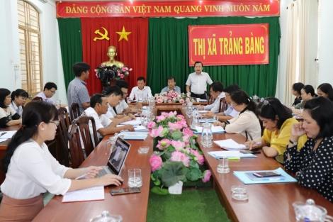 Khảo sát công tác quản lý nhà nước về đất đai tại Trảng Bàng