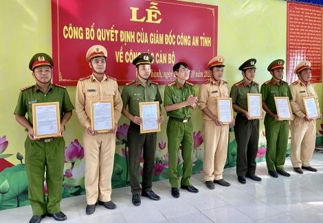 Châu Thành: Luân chuyển Công an chính quy về cơ sở