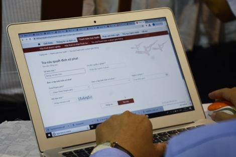 Quyết tâm đẩy mạnh dịch vụ công trực tuyến mức độ 3, 4
