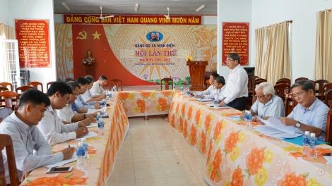 Giám sát công tác quản lý nhà nước đất đai tại Châu Thành