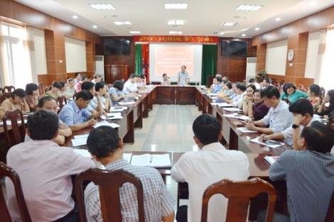 HĐND huyện Tân Châu sơ kết hoạt động 9 tháng năm 2020