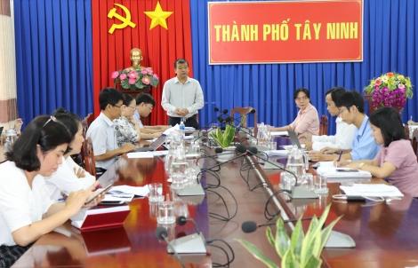 Giám sát công tác quản lý nhà nước về đất đai tại TP. Tây Ninh