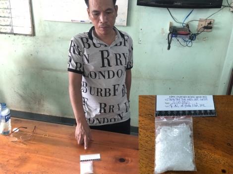 Công an Dương Minh Châu: Bắt đối tượng tàng trữ trái phép chất ma túy
