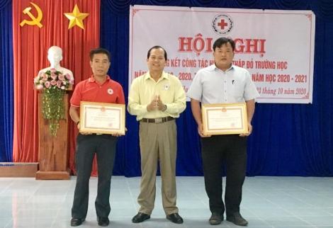 Huyện Dương Minh Châu tổng kết công tác chữ thập đỏ trường học