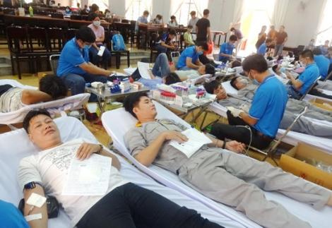 Gò Dầu tiếp nhận 170 đơn vị máu hiến