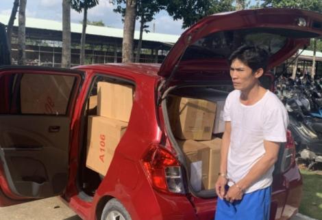 Công an Tân Biên: Khởi tố đối tượng vận chuyển 9.160 bao thuốc lá nhập lậu