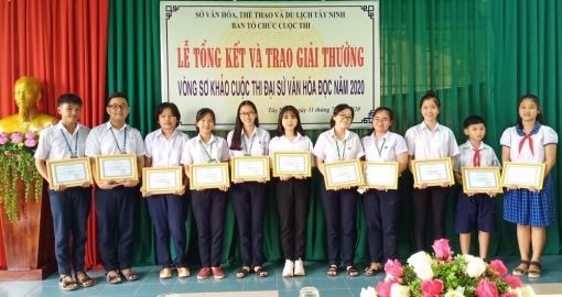 Tây Ninh: Đạt 2 giải tại vòng Chung kết Cuộc thi Đại sứ Văn hóa đọc năm 2020