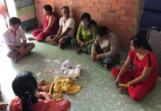 Triệt phá tụ điểm đánh bạc tại xã Trường Hòa