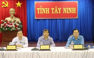 Tây Ninh nằm trong các tỉnh có tỷ lệ giải ngân khá