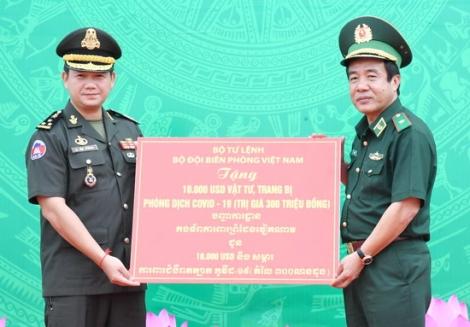 Bộ Tư lệnh BĐBP Việt Nam và Bộ Tư lệnh Lục Quân Campuchia: Tăng cường hợp tác quản lý bảo vệ biên giới