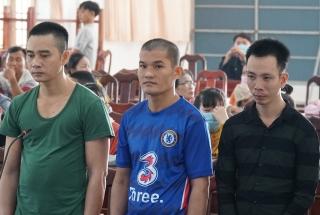 3 bị cáo lãnh án 18 năm tù