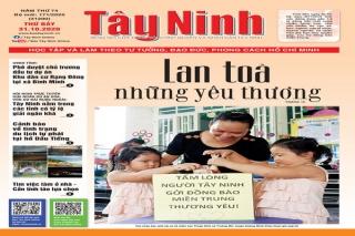 Điểm báo in Tây Ninh ngày 31.10.2020