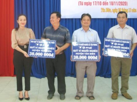 """Tân Biên phát động tháng cao điểm """"Vì người nghèo"""""""