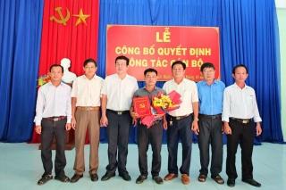 Thị xã Trảng Bàng công bố quyết định về công tác cán bộ