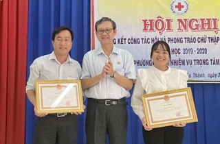Tổng kết công tác Hội và phong trào Chữ thập đỏ trường học năm học 2019-2020