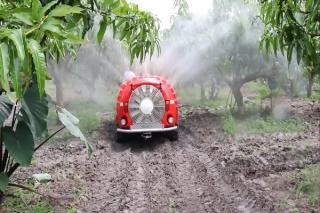 INAMCO trình diễn máy phun rẻ quạt công suất lớn tại Tây Ninh