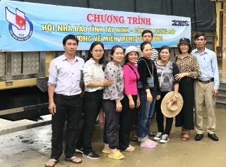 Hội Nhà báo Tây Ninh hướng về miền Trung thương yêu