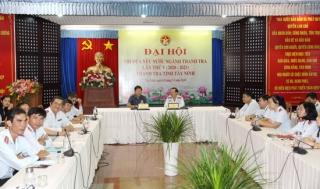 Thanh tra Tây Ninh nhận Cờ thi đua của Thanh tra Chính phủ