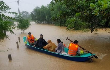 Những mùa lụt bão…